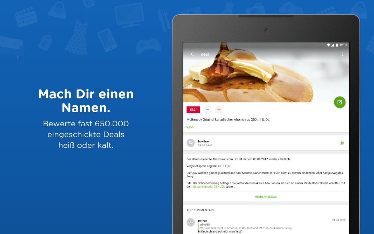 mydealz – Gutscheine & Deals 5.3.03 Screen 6