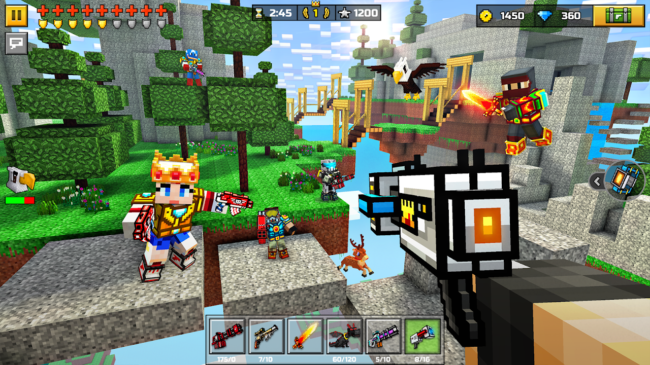 Pixel Gun 3D (Pocket Edition) 16.8.0 Screen 1