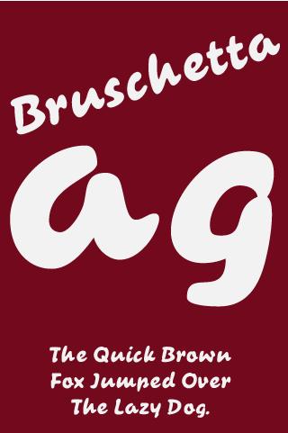 Bruschetta FlipFont APKs | Android APK