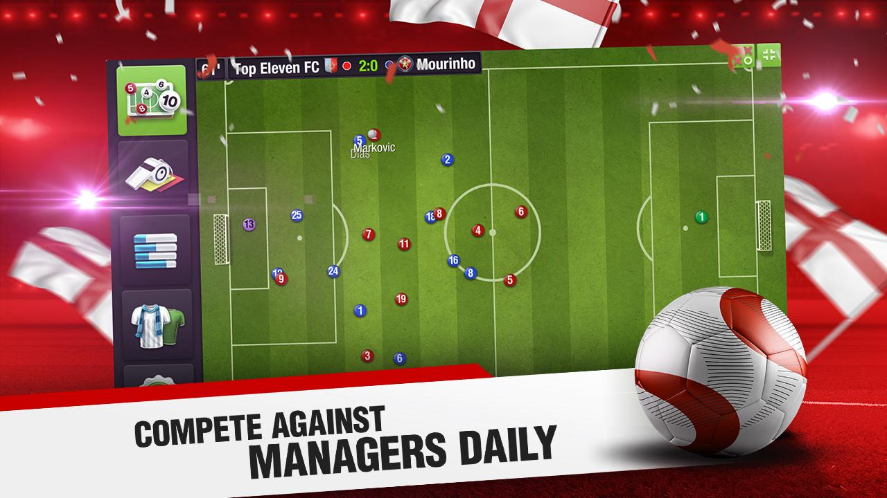 Android Top Eleven 2018 - Be a Football Manager Screen 4