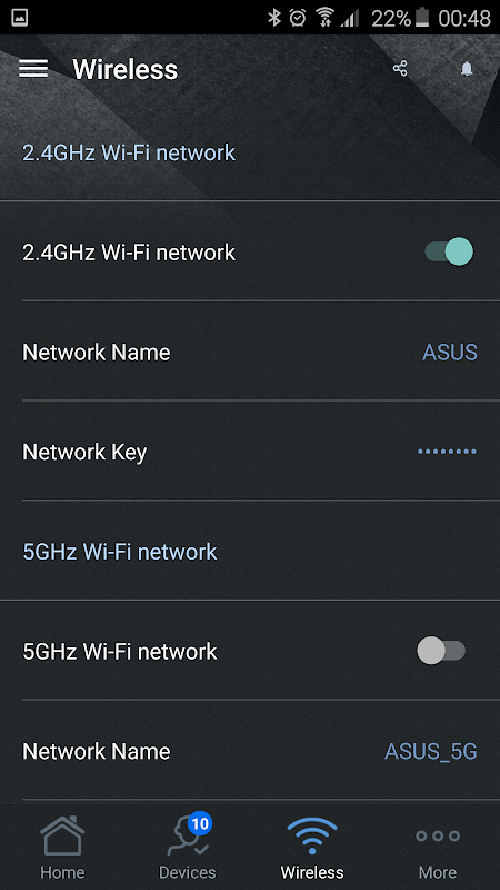 ASUS Router 1.0.0.5.5 Screen 4