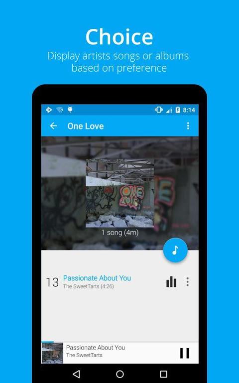 Android Rocket Player Premium Audio Screen 6