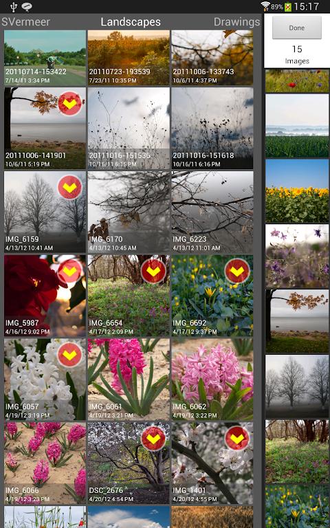Android SlideFX Video Creator Screen 14