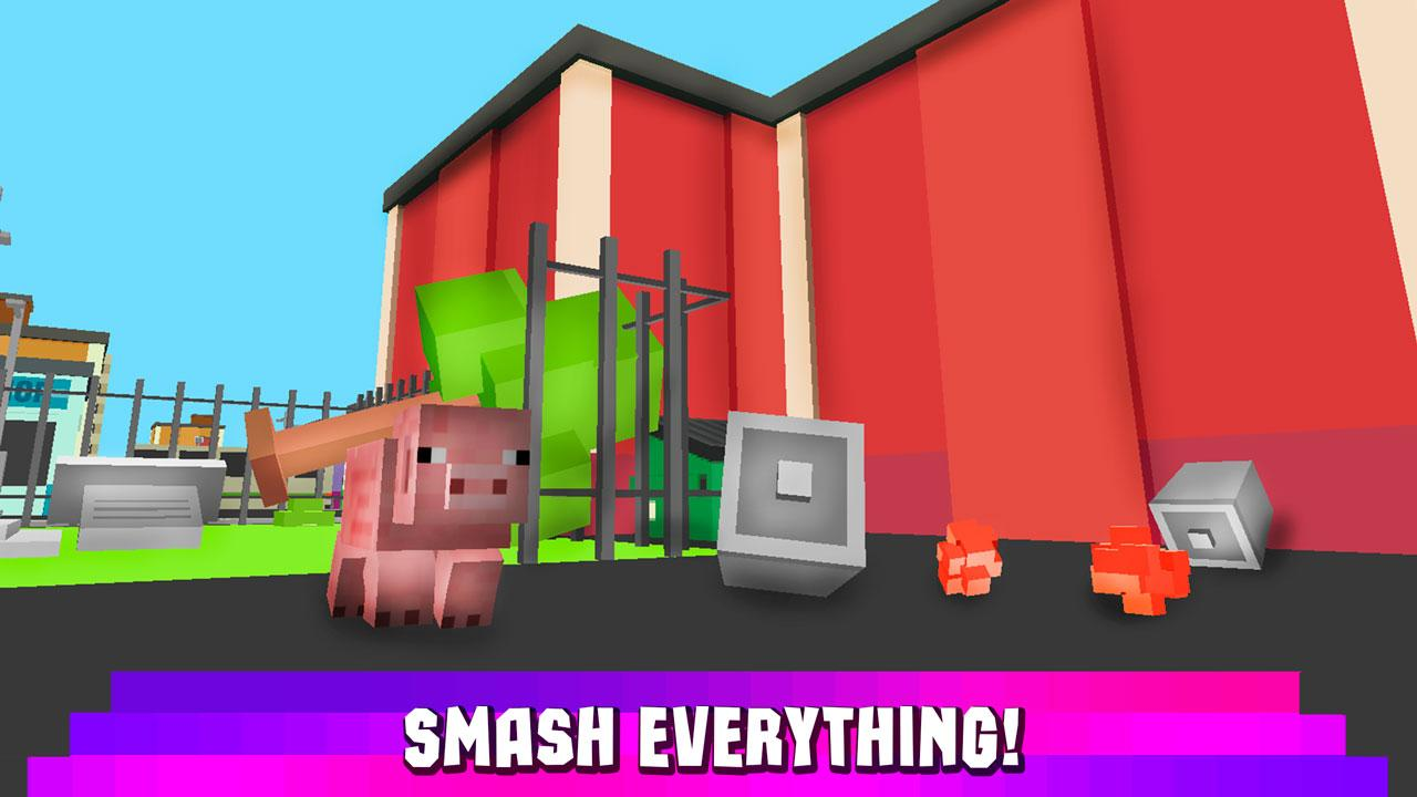 Android Cube Pig Simulator 3D Screen 2