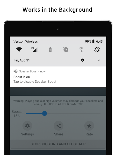 Speaker Boost - Volume Booster 3.0.11 Screen 9