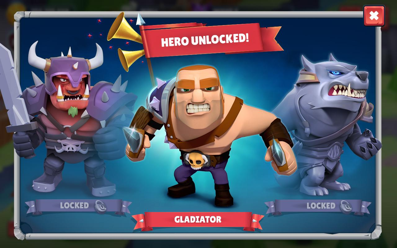 Android Game of Warriors (Unreleased) (MOD) Screen 2
