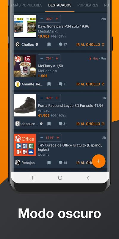 Android Chollometro – Chollos, Black Friday, ofertas Screen 1