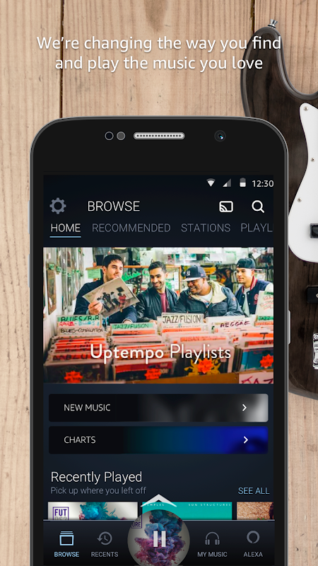 Android Amazon Music Screen 5