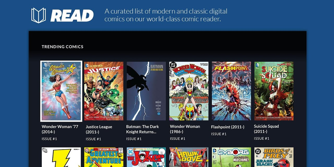 Android DC Universe - Android TV Screen 11