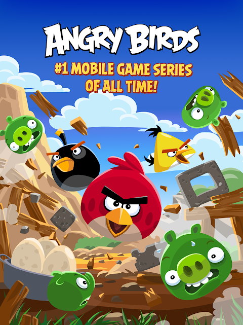 Android Angry Birds Screen 5