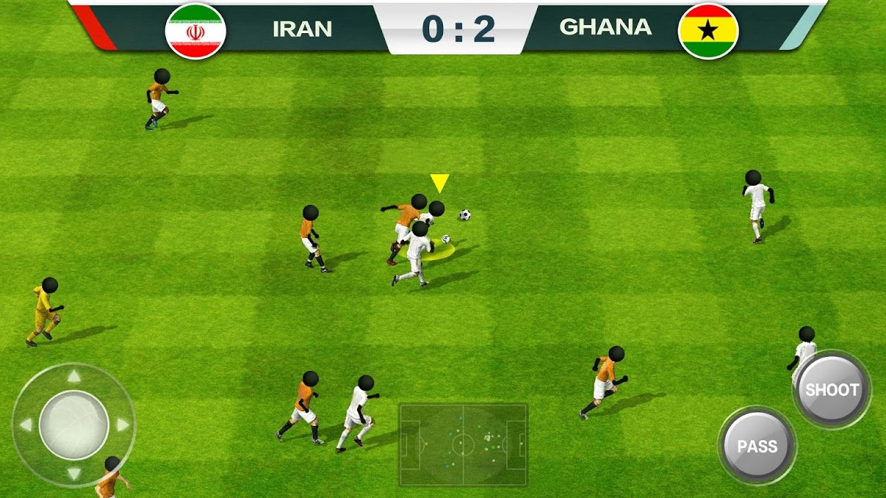 Android 2019 Football Fun - Fantasy Sports Strike Games Screen 4