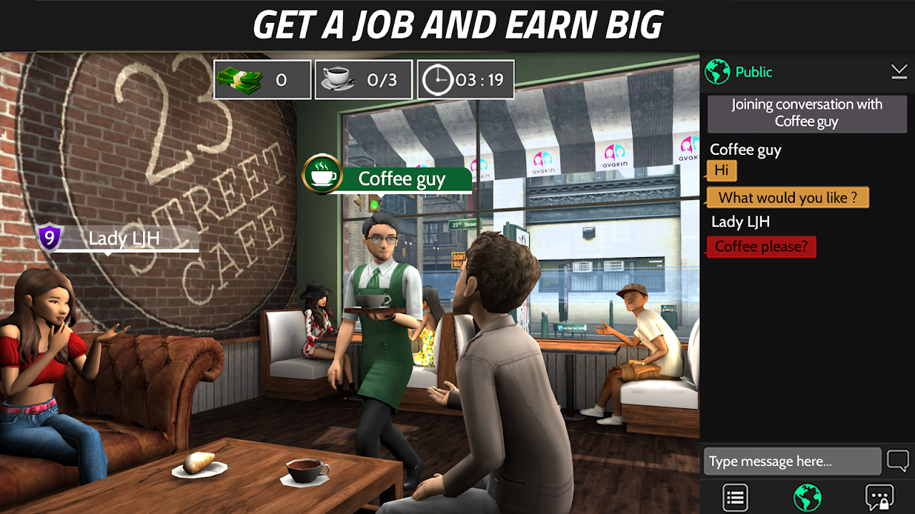 Avakin Life 1.022.09 Screen 3