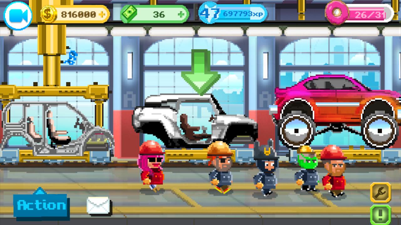 Motor World Car Factory 1.9026 Screen 5
