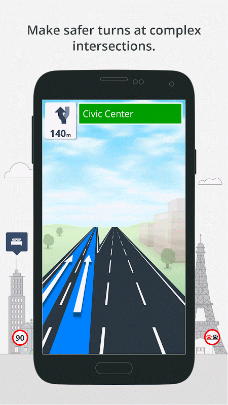 GPS Navigation & Maps Sygic 17.0.7 Screen 4