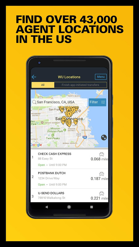 Western Union US - Send Money Transfers Quickly 6.0 Screen 5