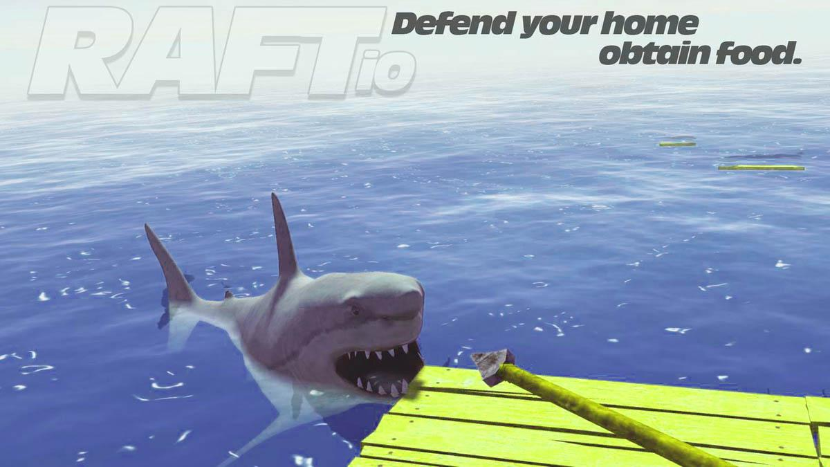 Android Ocean Raft Survival Screen 1
