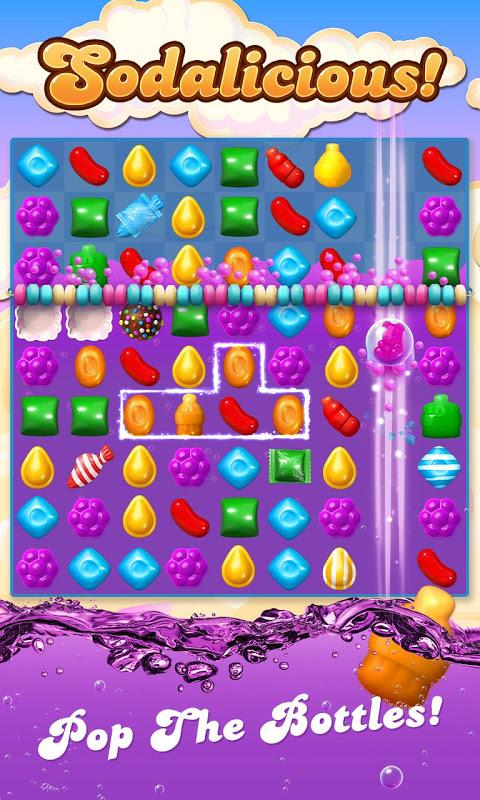 Android Candy Crush Soda Saga Screen 5