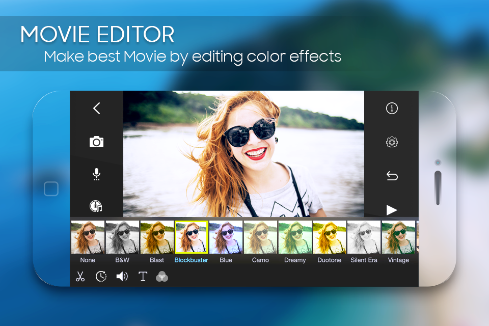Android Best Movie Editing – Pro Video Creator Screen 1