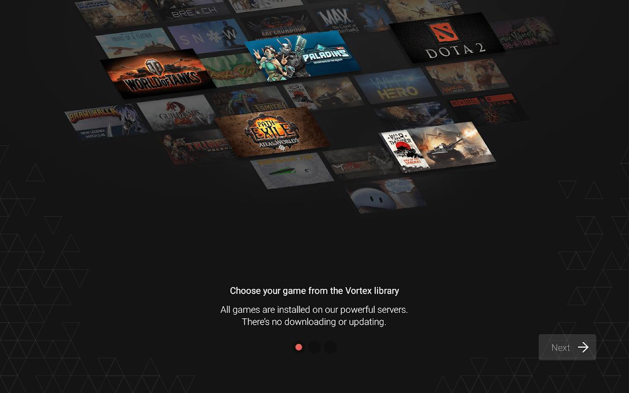 Vortex Cloud Gaming 1.0.226 Screen 9