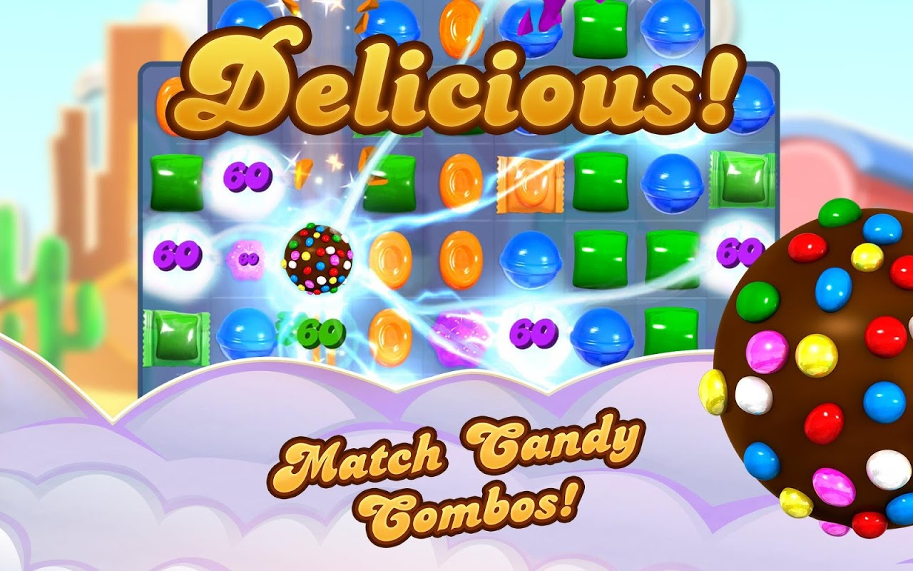Android Candy Crush Saga Screen 10