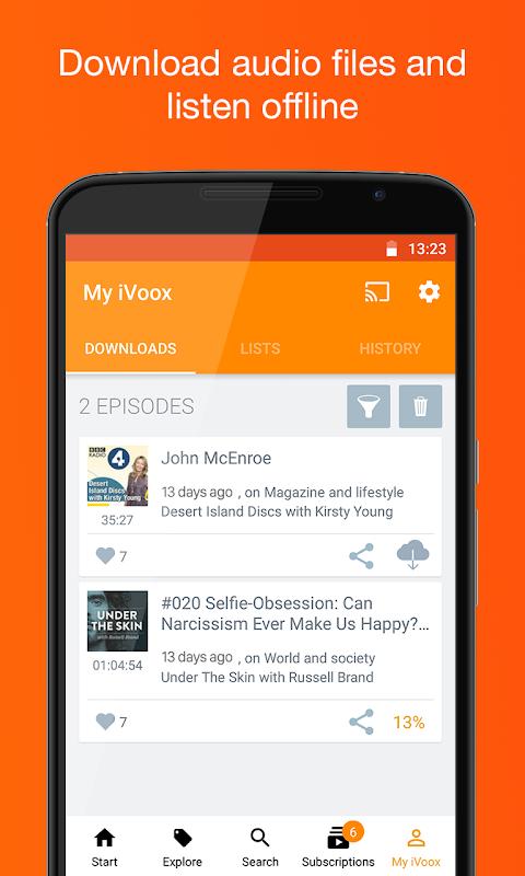 Podcast & Radio iVoox 2.221 Screen 4