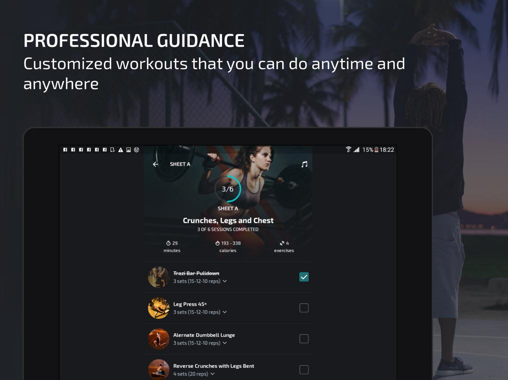 Android BTFIT - Personal Trainer Online, Fitness and Yoga Screen 12