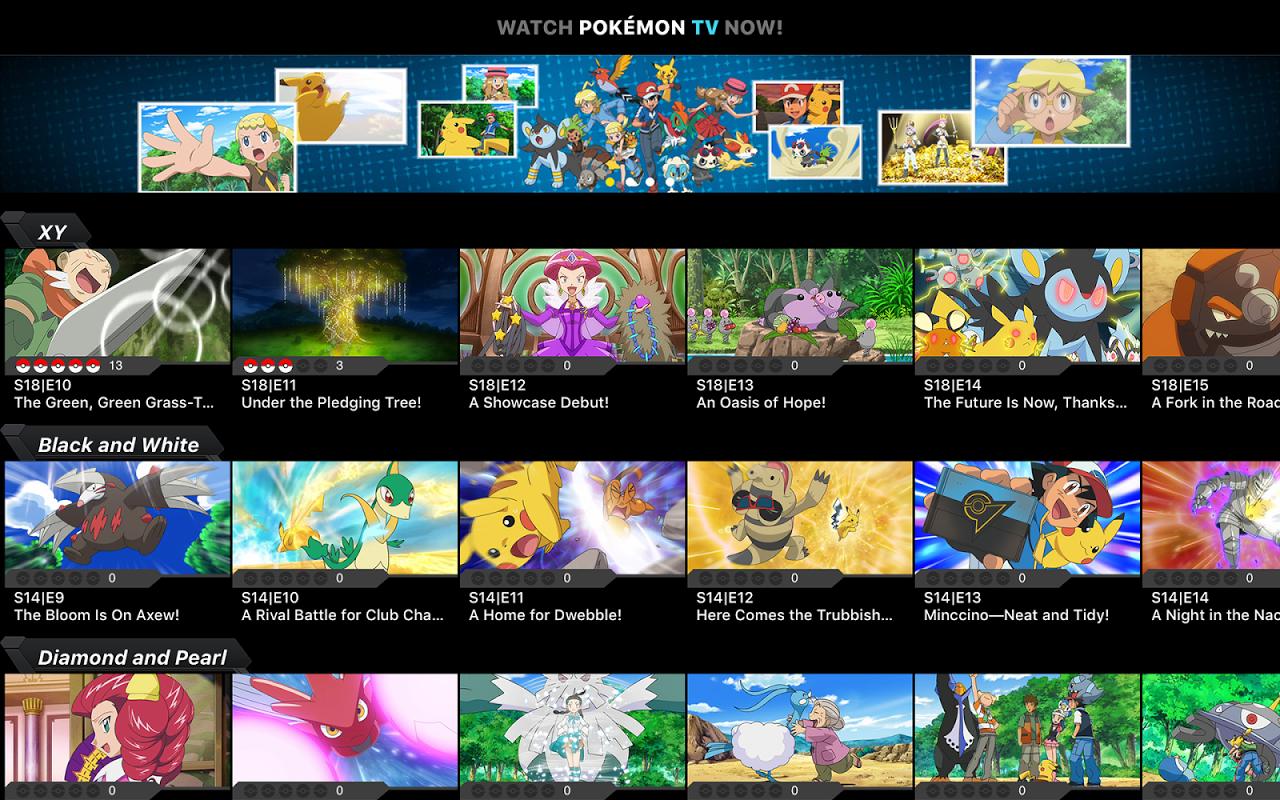 Pokémon TV 2.1.0 Screen 5