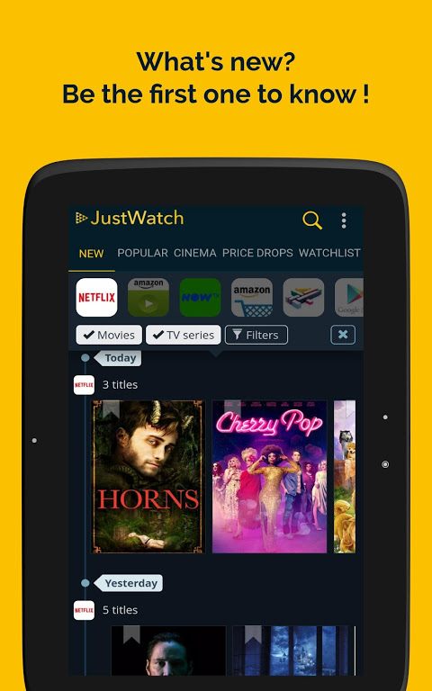 JustWatch - Search Engine for Streaming and Cinema 0.24.58 Screen 8