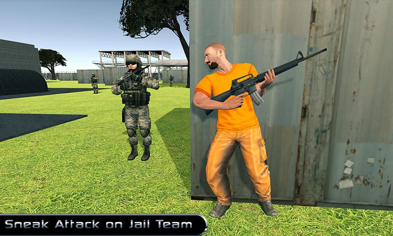 Android Jail Prison Break 3D: City Prison Escape Games Screen 1