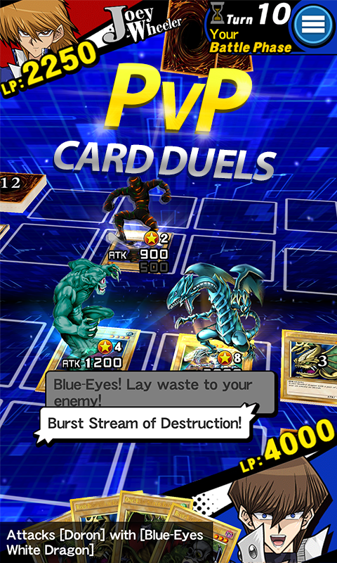 Android Yu-Gi-Oh! Duel Links Screen 1