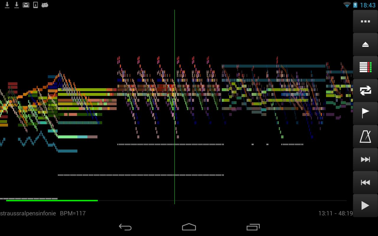 MIDI Voyager Karaoke Player 5.3.3 Screen 1