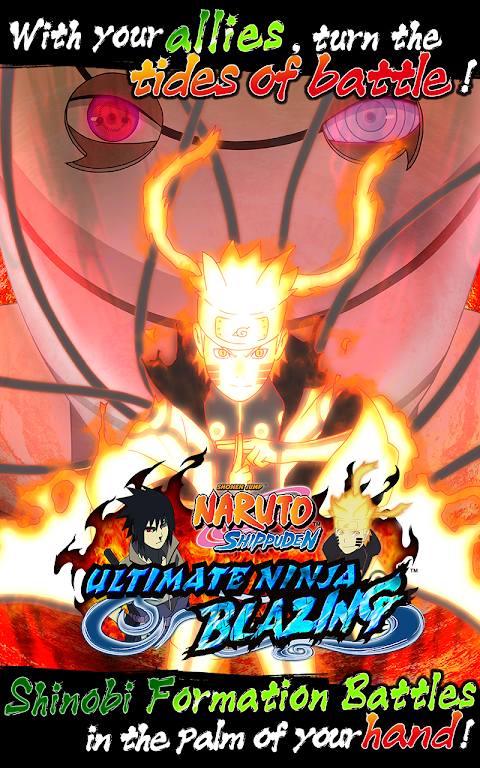 Android Ultimate Ninja Blazing Screen 1