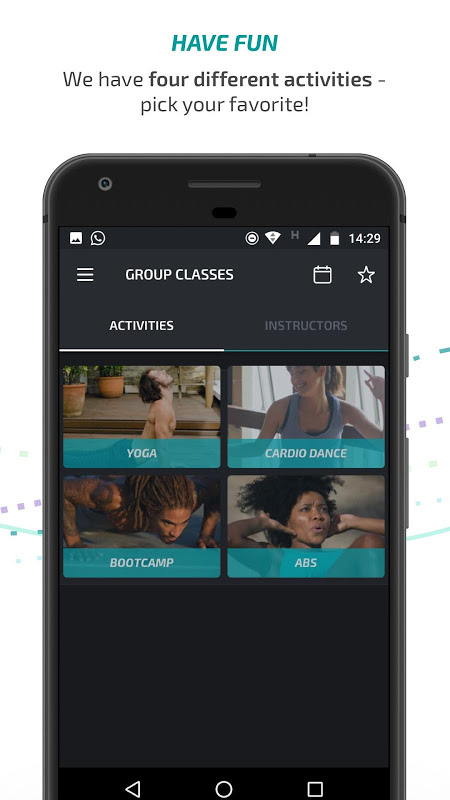 Android BTFIT - Personal Trainer Online, Fitness and Yoga Screen 2