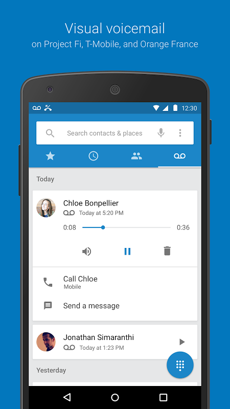 Google Dialer 1.2 Screen 5