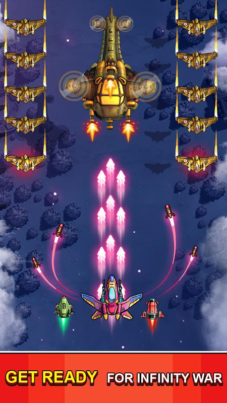 Space Squad : Galaxy Attack of Strike Force 7.8 Screen 2