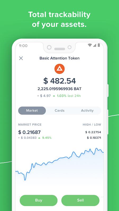 Uphold - Buy Digital Currencies 3.2.2 Screen 2