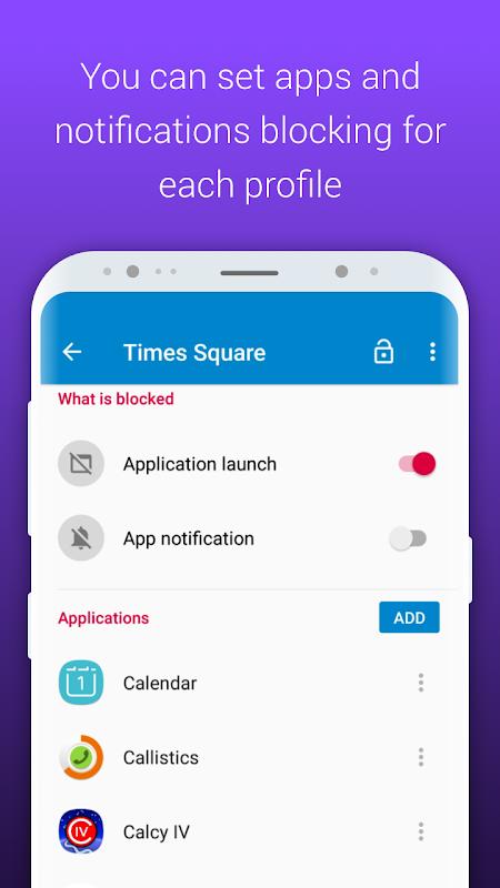 AppBlock - Stay Focused 2.2.1 Screen 3