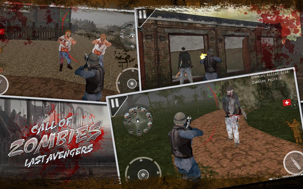 Android Call of Zombies Last Avengers Screen 1