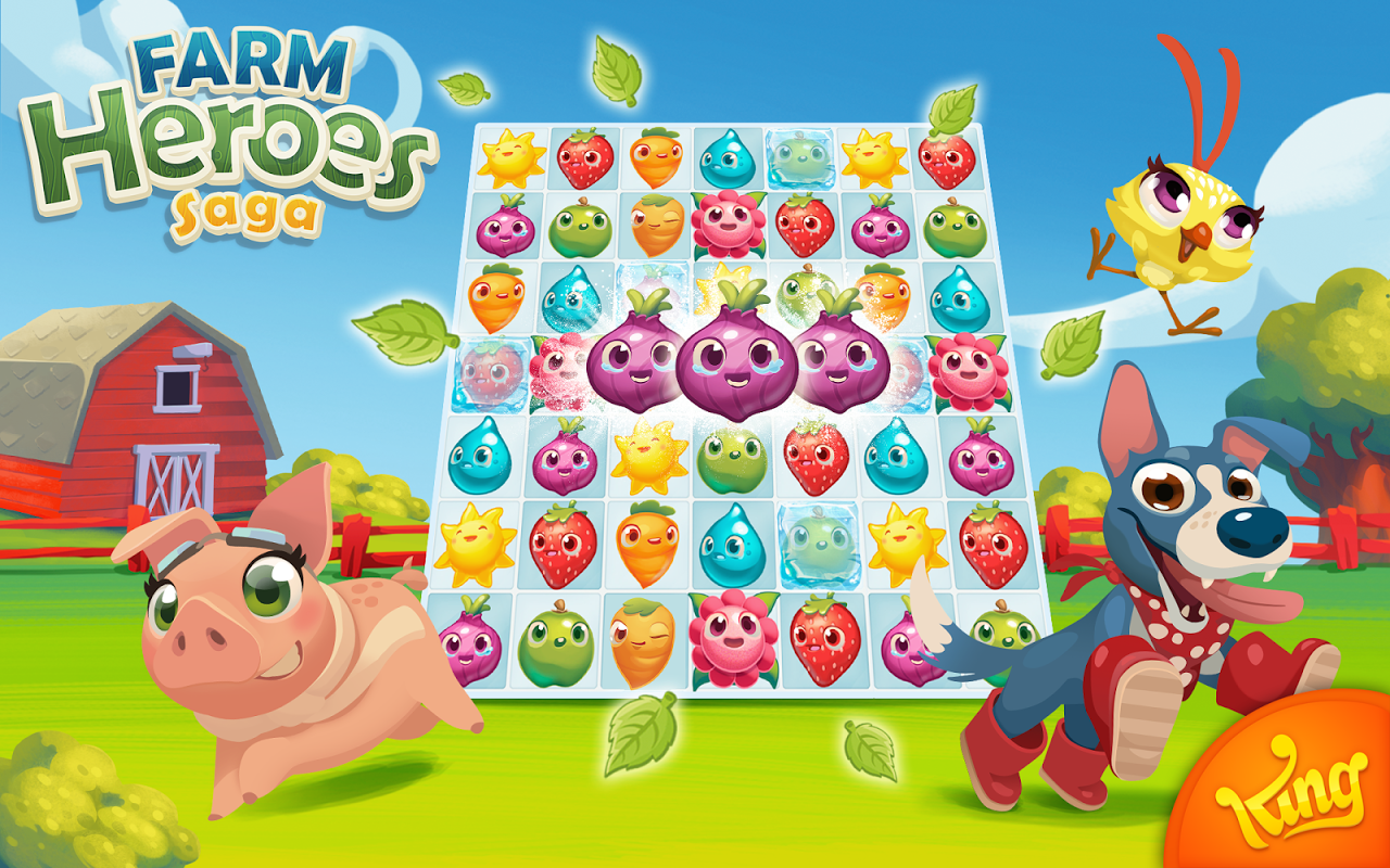 Android Farm Heroes Saga Screen 12