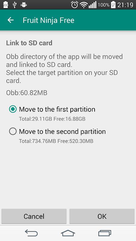 Link2SD 4.3.4 Screen 5