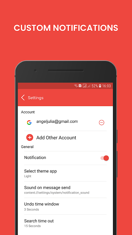 Android Email - Mail for Gmail Outlook & All Mailbox Screen 3