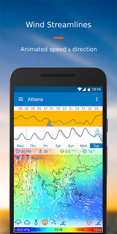 Android Flowx: Weather Map Forecast App Screen 4
