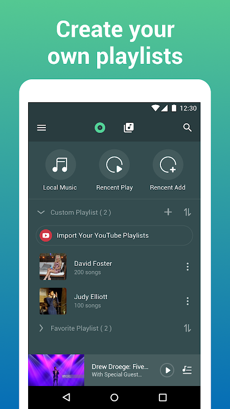 Android Free Music Lite - Offline Music Player Screen 4