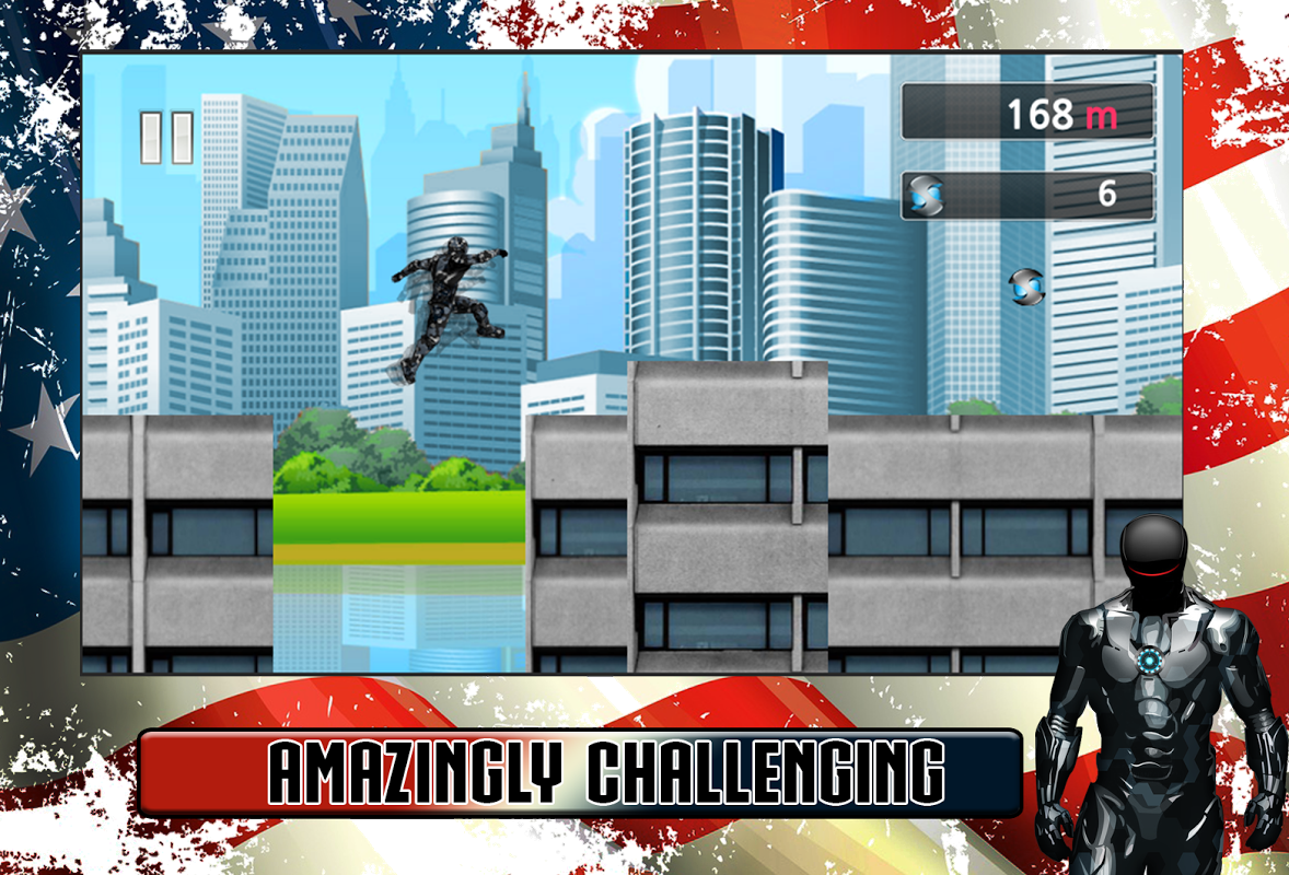 Android American Iron Avenger Screen 4