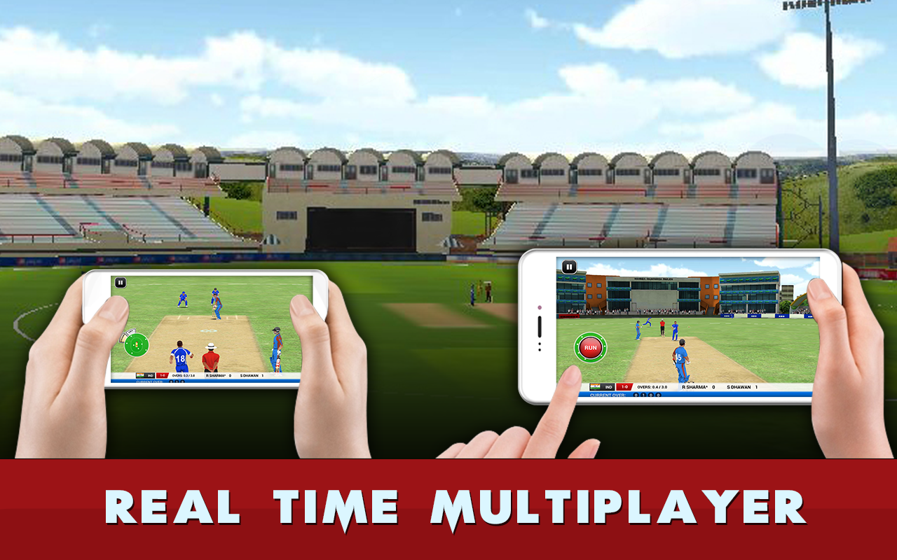 Android MS Dhoni: The Official Cricket Game Screen 1
