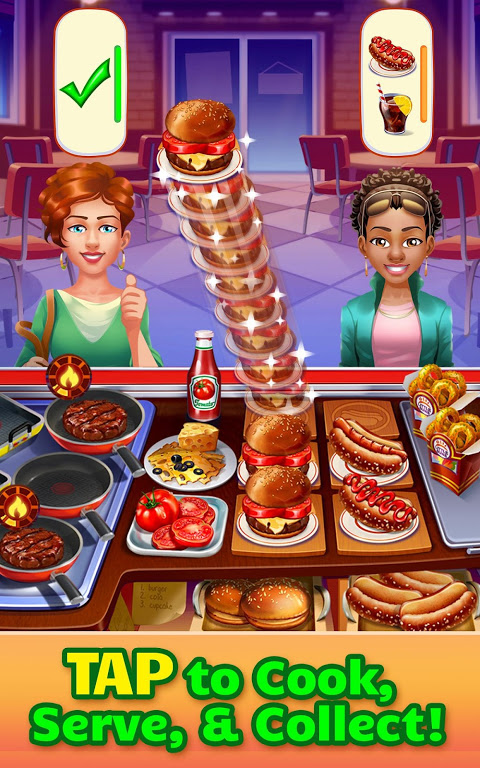 Android Cooking Craze: Crazy, Fast Restaurant Kitchen Game Screen 5