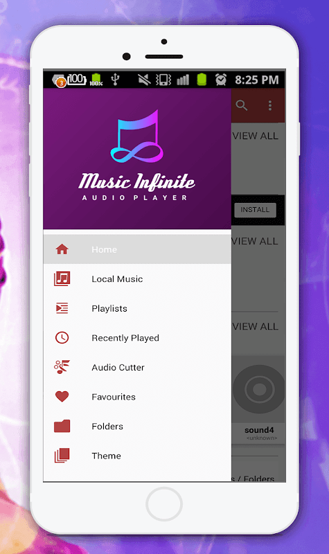 Audio Player(Mp3 Music Player) 1.5 Screen 2