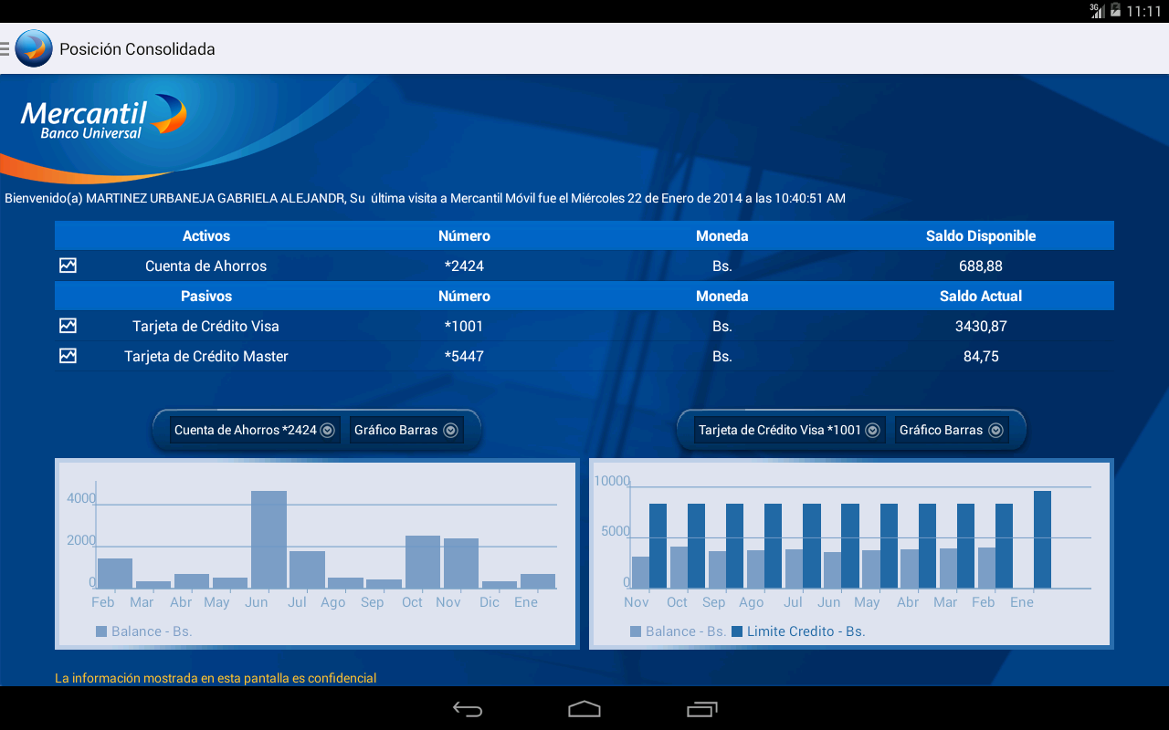 Mercantil Móvil 3 1 0 APK Download by BancoBHD | Android APK