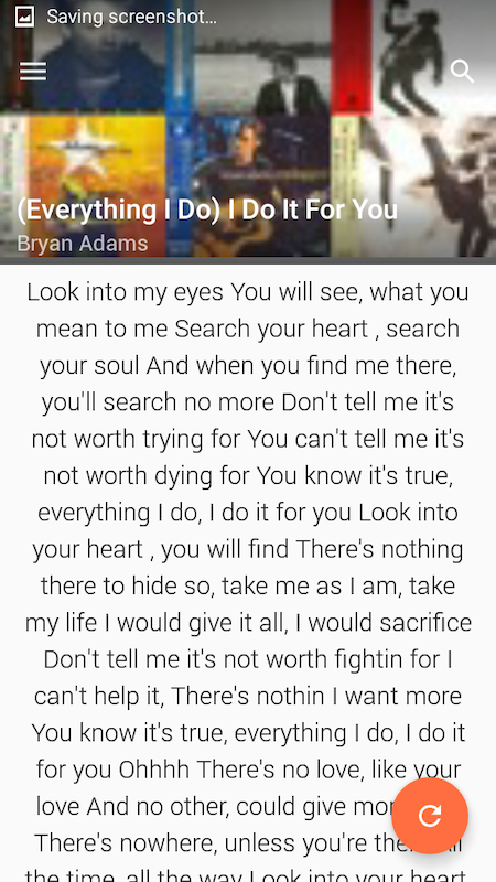 Android InstantLyric Screen 8