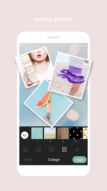Android Cymera - Photo & Beauty Editor Screen 2